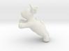 Cartoon deer keychain 3 3d printed