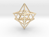 Sacred Geometry: Merkabah2 50mm 2 Nested Star Tetr 3d printed