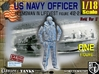 1/18 USN Officer Helmsman 412-2 3d printed