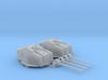 """1/350 HMS Tiger Class 6""""/50(15.2cm) QF MKN5 Gun x2 3d printed 1/350 HMS Tiger Class 6""""/50(15.2cm) QF MKN5 Guns x2"""