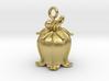 bell flower pendant 3d printed