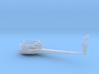 1/200 IJNYamatoAntenna Yard Arm Starboard 3d printed