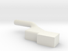GE U36B shell front-Lamp mid-left white 3d printed