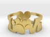 Unconditional Love Ring 3d printed