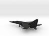 MiG-25PU Foxbat-C 3d printed