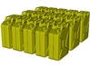 1/87 scale WWII Wehrmacht 20 lt fuel canister x 15 3d printed