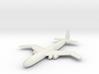 (1:144) Junkers EF 116 (W-wing Version) 3d printed