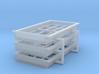 HO Leadville Freight Windows 3d printed