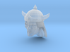 Barbarian Head with helmet 1 3d printed Recommended
