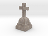 Medieval Miniature Stone Cross 02 3d printed