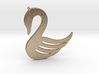 Swan Necklace-26 3d printed