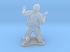 Modern Soldier on Knees, scale: 1:72 3d printed