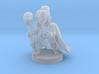 Female Halfling Warlock 3d printed