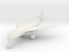 (1:200) Messerschmitt Me P.1101/103 (swept wings) 3d printed