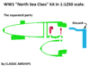 North Sea Class of WW1 3d printed Assembly Instructions p3 of 4