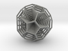 0377 8-Grid Truncated Icosahedron #All (5.0 cm) 3d printed