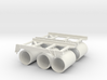 1 zu 20 roll of rack and depth charges 3d printed