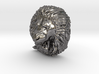 Angry Lion Pendant 3d printed