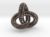 Torus Knot Wireframe  3d printed