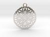 Ornamental pendant no.5 3d printed