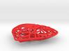 valentine hearth pendant  3d printed