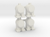OO / HO Head Lamp x4 3d printed
