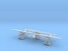 1/285 Fokker DVIII  x3 3d printed