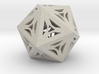Decorative Icosahedron 3d printed