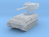 FV433 Field Artillery Abbot Scale: 1:200 3d printed