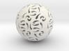 Hollow Sphere 1 3d printed