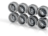SF007 11-3 Hot Wheels Offroad Truck Rims 3d printed