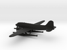 Douglas DC-3 (with floats) 3d printed