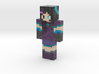 Water_Moon | Minecraft toy 3d printed