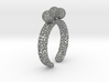 voronoi fidget ring. Size 7 18.92 mm with three sp 3d printed