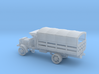 1/144 Scale Liberty Truck Cargo with Cover 3d printed