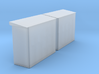 2 x Schaltkasten (Unterstand) mit 11 x Schaltkaste 3d printed