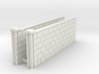 5' Block Wall - 2-Long L/S Jointed Intersections 3d printed Part # BWJ-010