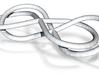 Double infinity bracelet 3d printed