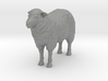 S Scale Sheep 3d printed This is a render not a picture