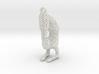 Voronoi yoga jewelry - earring pendant - Vrischika 3d printed
