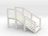 O Scale Cattle Ramp 3d printed This is a render not a picture