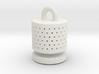 aquarium air bubbler cylinder 3d printed