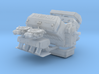 Mopar Hemi 1/25 w/dual 1050s 3d printed
