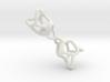 M098_TB10.163  Multihandle tetrahedron  3d printed