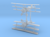 1/285 (6mm) Sopwith Triplane (x2) 3d printed