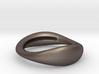 Sculptural Bracelet  MIRIAM Black Steel-1-60-2 3d printed