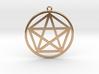 Pentagram 3d printed