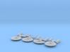 Micro Machine Fleet 3d printed