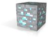 Diamond Ore Block 3d printed