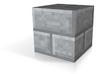 Stone Brick Block 3d printed